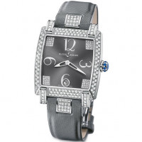Ulysse Nardin Caprice (WG-Diamonds / Grey / Satin)