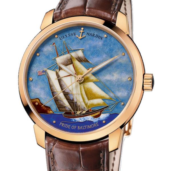 Ulysse Nardin Classico Pride of Baltimore Limited Edition