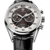 Tag Heuer Calibre 36 Chronograph Flyback 43mm 2013 Gray and silver dial