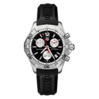Tag Heuer Aquaracer Quartz Chronograph (SS / Black / Rubber)