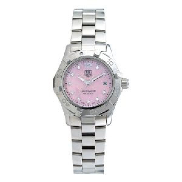 Tag Heuer Aquaracer Quartz Ladies 27mm (SS-Diamonds / Pink MOP-Diamonds / SS)