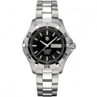 Tag Heuer Aquaracer Automatic Day Date (SS / Black / SS)
