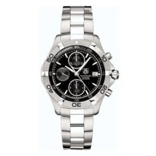 Tag Heuer Aquaracer Automatic Chronograph (SS / Black / SS)