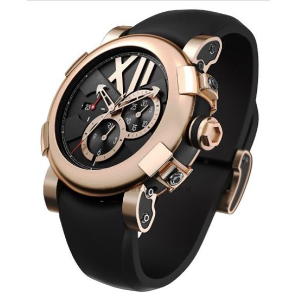 Romain Jerome Pink gold chronograph