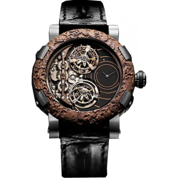 Romain Jerome Rusted steel Day Night spiral Extreme