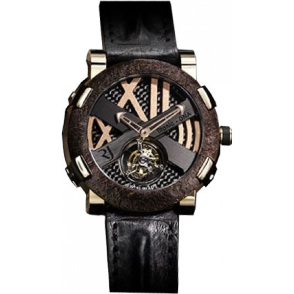 Romain Jerome Rusted steel T-oxy III Tourbillon pink gold Extreme Limited