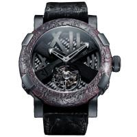 Romain Jerome Tourbillon Ultimate Black Limited Edition 9