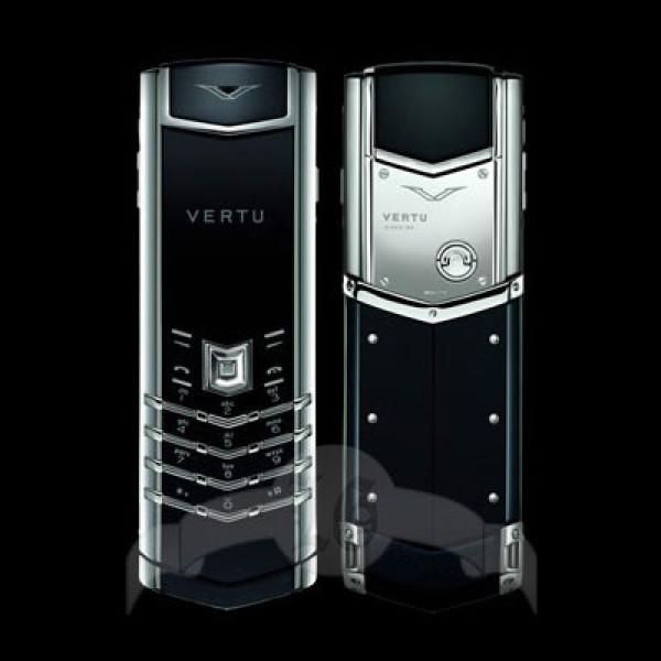 Vertu Signature S Design 18-каратное белое золото