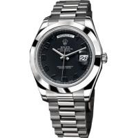 Rolex Day-Date II Platinum Black