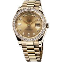 Rolex Day-Date II President Yellow Gold - Diamond Bezel