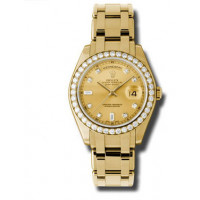 Rolex Day-Date 39mm Special Edition Yellow Gold Masterpiece