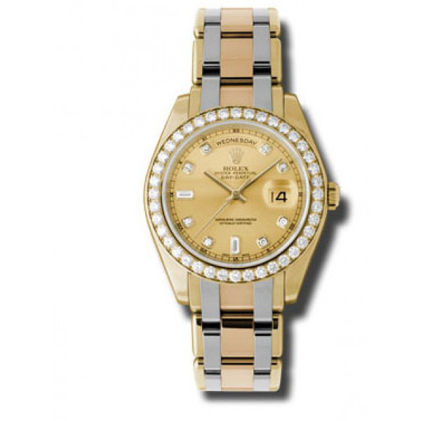 Rolex Day-Date 39mm Special Edition Tridor Masterpiece