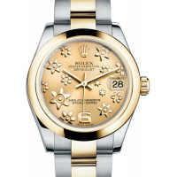 Rolex Datejust 31mm - Steel and Yellow Gold - Domed Bezel - Oyster