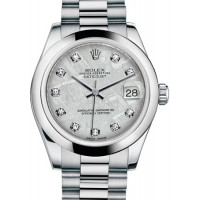 Rolex Datejust 31mm Platinum President 2013