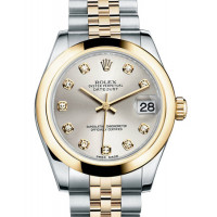 Rolex Datejust 31mm - Steel and Yellow Gold - Domed Bezel - Jubilee
