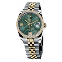 Rolex Datejust 36mm - Steel and Yellow Gold Diamond Bezel - Jublilee