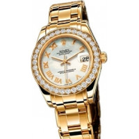 Rolex Datejust 34mm Special Edition Yellow Gold Masterpiece 34 Dia Bezel