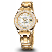 Rolex Datejust Lady - Pearlmaster Yellow Gold Masterpiece 32 Dia Bezel