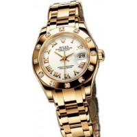 Rolex Datejust Lady - Pearlmaster Yellow Gold Masterpiece 12 Dia Bezel