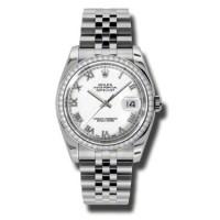 Rolex Steel White Gold Dia Bezel - Jublilee