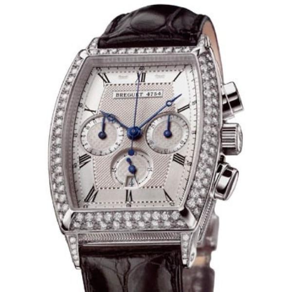 Breguet watches Heritage Chronograph (WG / Diamonds)