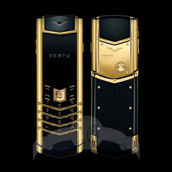 Vertu Signature S Design 18-каратное жёлтое золото