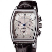 Breguet watches Heritage Chronograph (Platinum / Leather)