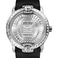 Roger Dubuis Velvet High Jewellery White Gold Strap