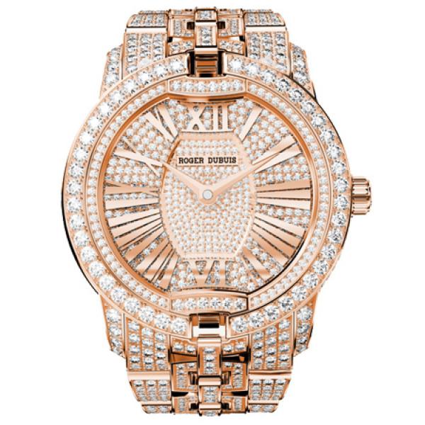 Roger Dubuis Velvet High Jewellery Rose Gold