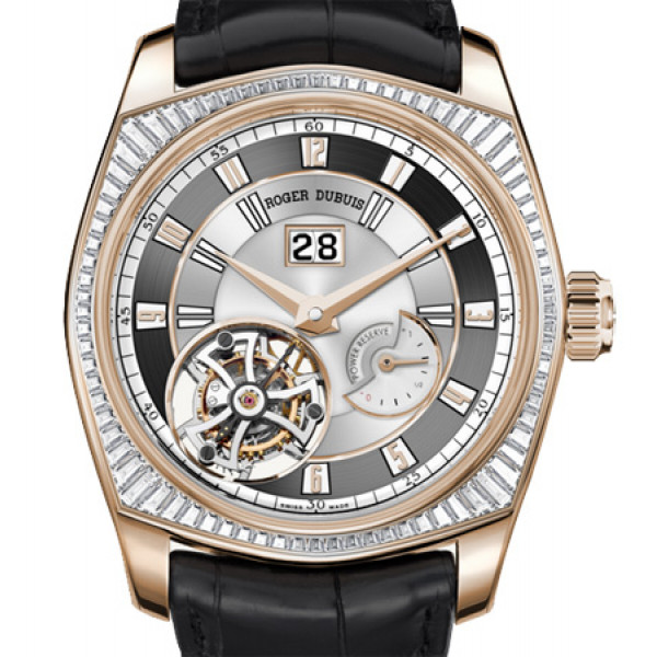 Roger Dubuis La Monegasque Flying Tourbillon Large Date Rose Gold