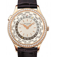 Patek Philippe Ladies Complications Rose Gold - World Time 2013