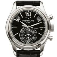 Patek Philippe Men Complications Platinum Annual Calendar Chronograph 2013