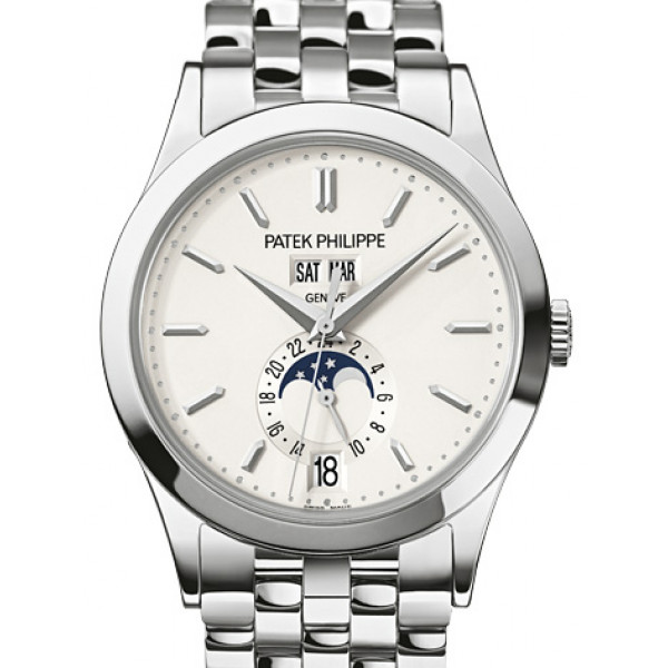 Patek Philippe Men Complications - Annual Calendar White Gold 2013