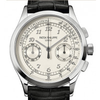 Patek Philippe Men Complications White Gold Chronograph 2013