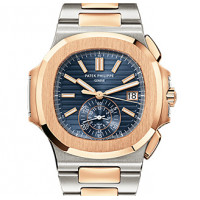 Patek Philippe Nautilus Stainless Steel and Rose Gold 2013
