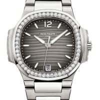 Patek Philippe Ladies Nautilus Stainless Steel Bracelet Automatic 2013