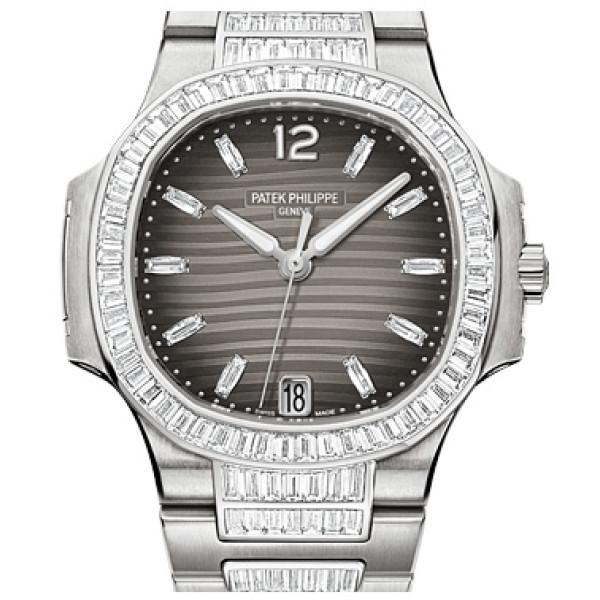 Patek Philippe Ladies Nautilus White Gold Bracelet Diamond 2013