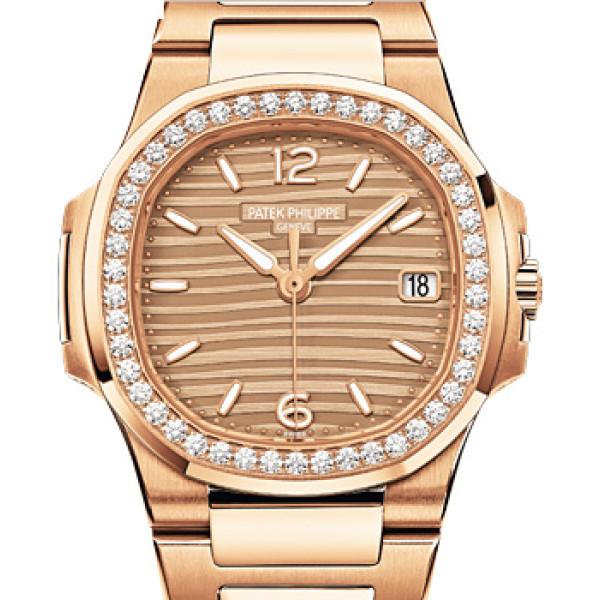 Patek Philippe Ladies Nautilus Rose Gold Bracelet  2013