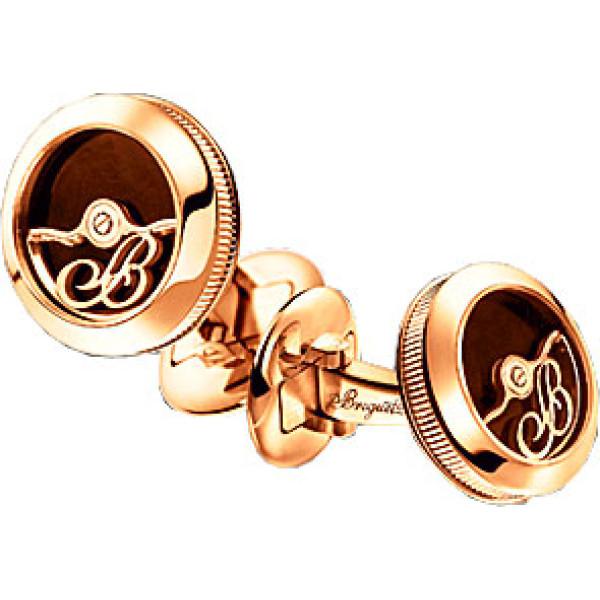 Breguet watches Cufflinks Pink Gold & Enamel