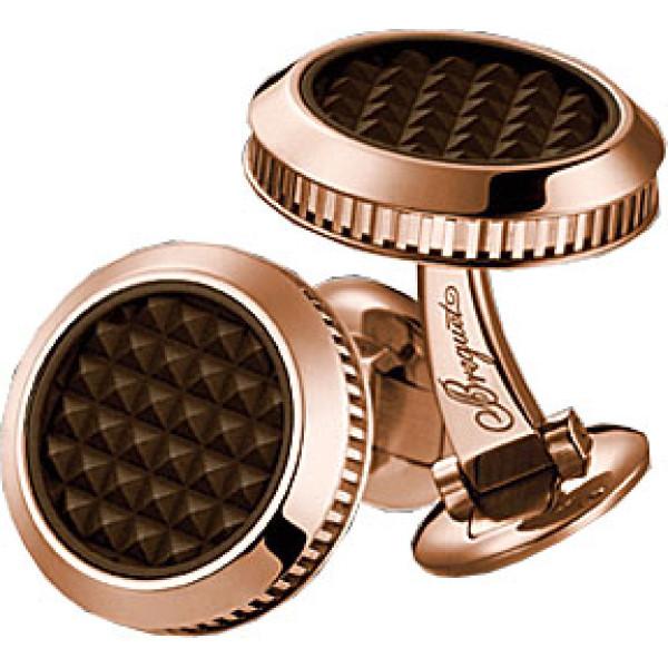 Breguet watches Cufflinks Pink Gold with fluted caseband