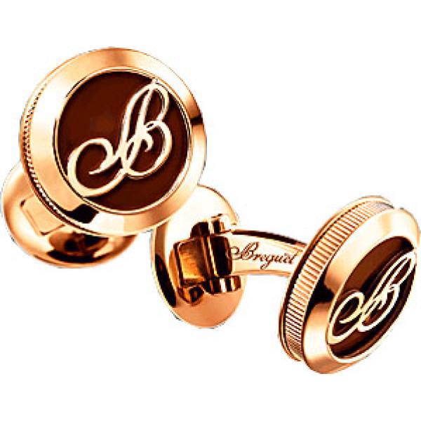Breguet watches Cufflinks pink gold and enamel