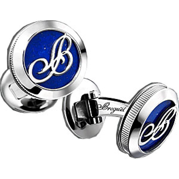 Breguet watches Cufflinks White Gold and Lapis Lazuli