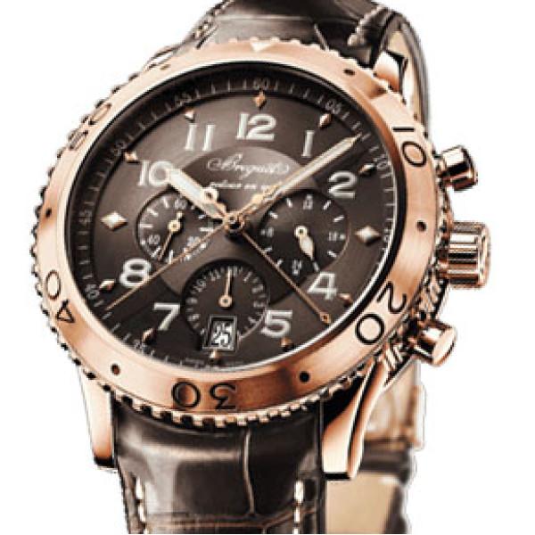 Breguet watches Breguet Transatlantique Type XXI Flyback (RG /Copper / Leather)