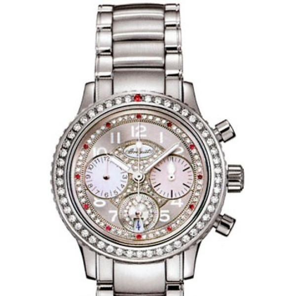 Breguet watches Transatlatique Ladies (SS / Silver / Diamonds / SS)