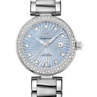 Omega Ladymatic Steel on steel Diamond blue pearl dial  2013