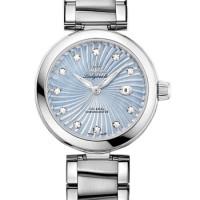 Omega Ladymatic Steel on steel blue pearl dial  2013