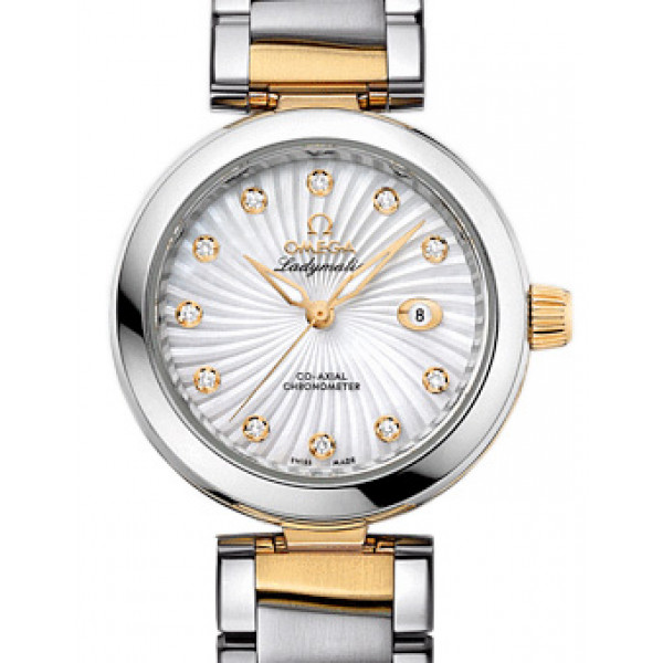 Omega De Ville Ladymatic 34 mm Steel - yellow gold on Steel - yellow gold 2013
