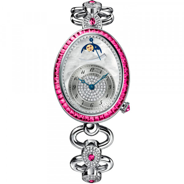Breguet watches Reine de Naples Haute Joaillerie Moonphase Ruby