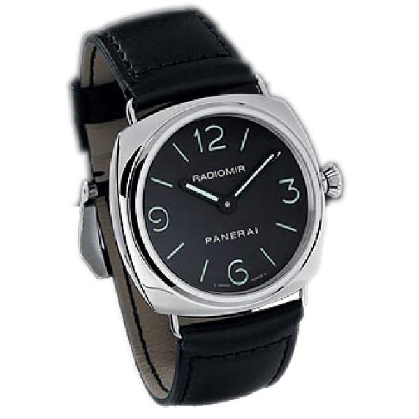 Officine Panerai Radomir Historic (SS / Black / Leather)