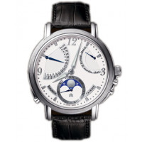 Maurice Lacroix Lune Retrograde (SS / White)